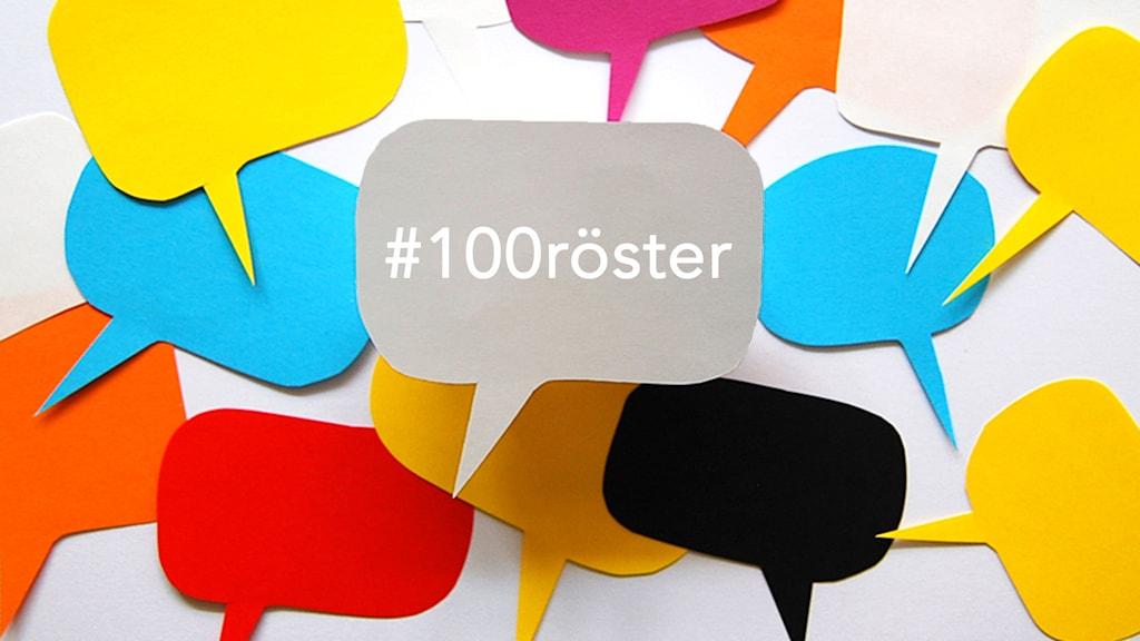 #100röster