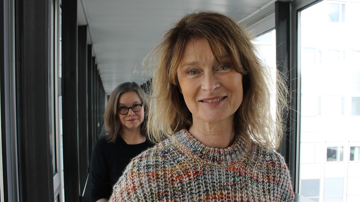 Anneli Dufva och Lena Endre.
