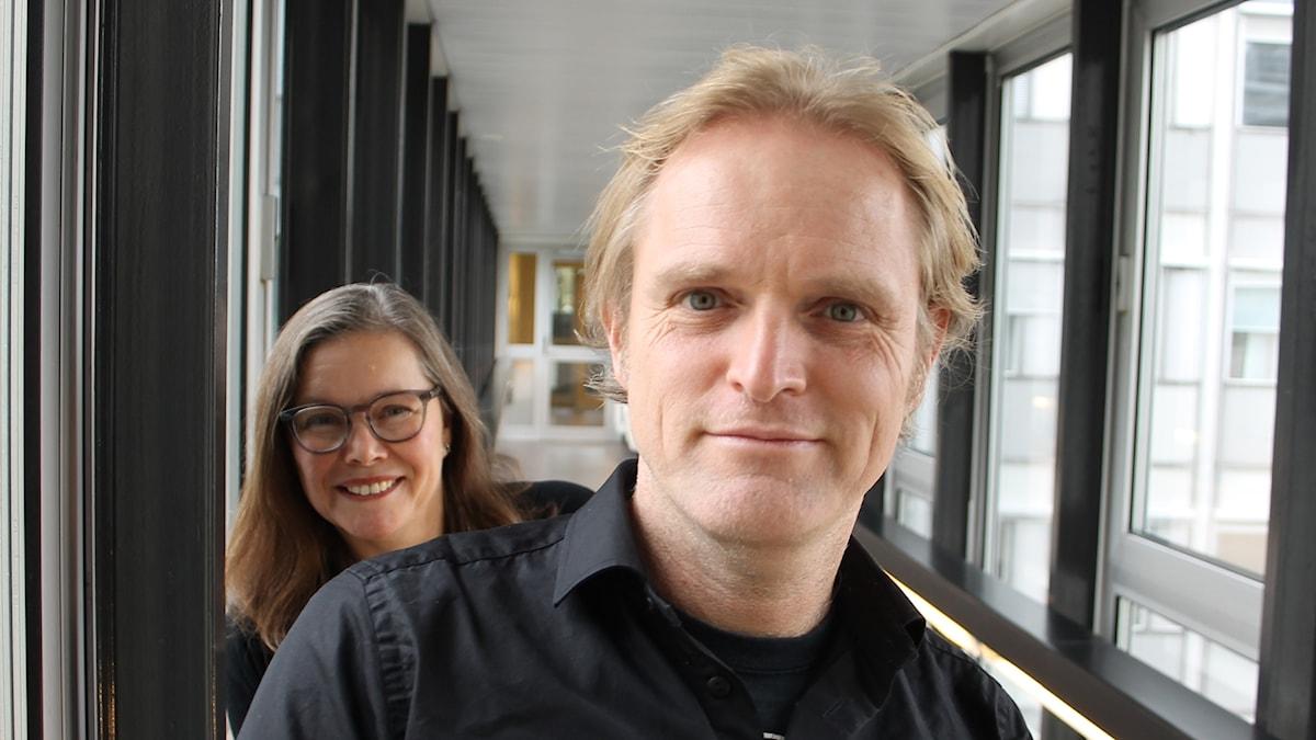 Anneli Dufva och Dennis Magnusson.