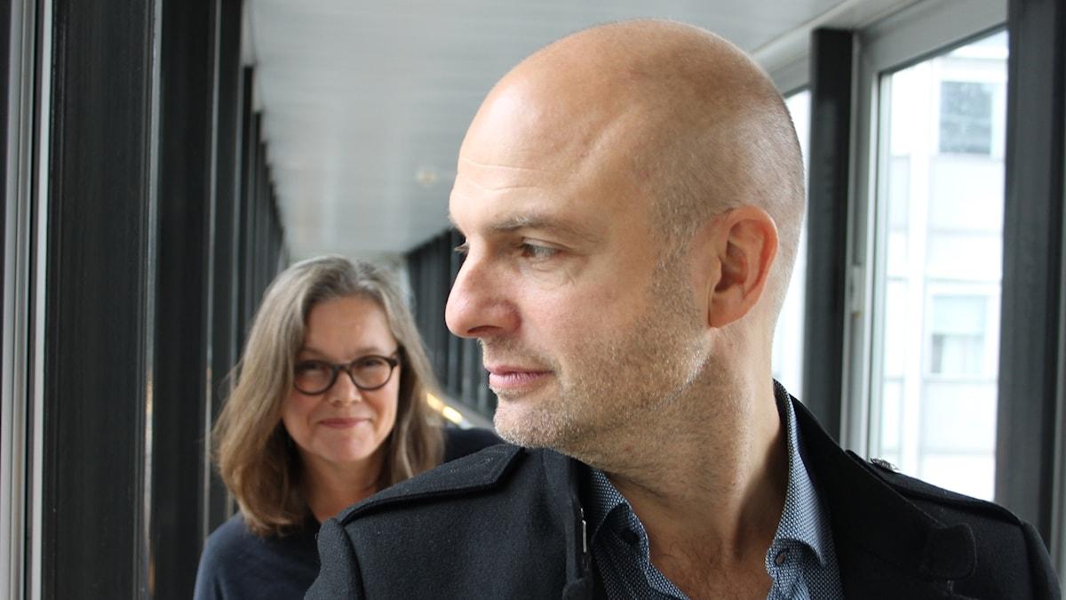 Anneli Dufva och Linus Tunström.