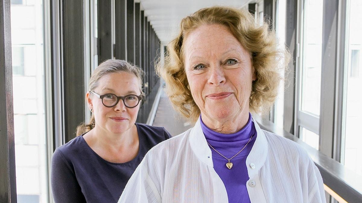 Anneli Dufva och Iréne Lind