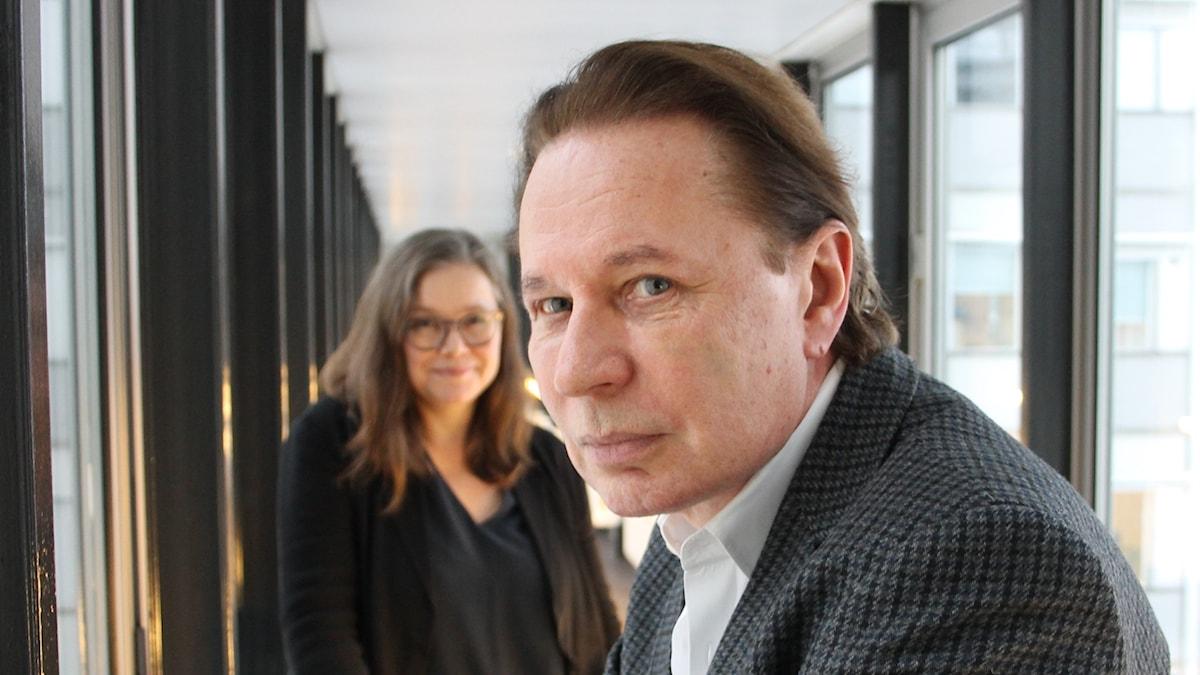 Anneli Dufva och Reine Brynolfsson.