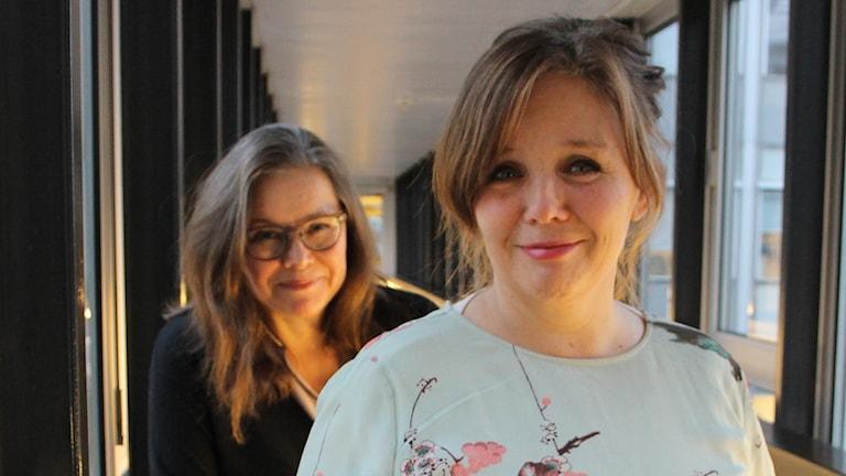 Anneli Dufva och Kia Berglund.