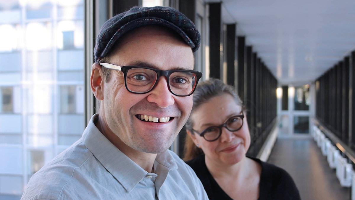 David Dencik och AnneliDufva.