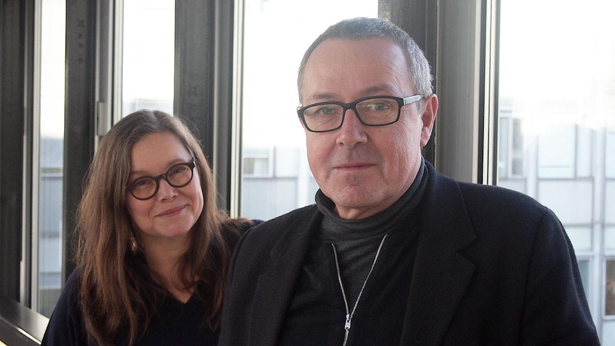 Anneli Dufva och Staffan Valdemar Holm