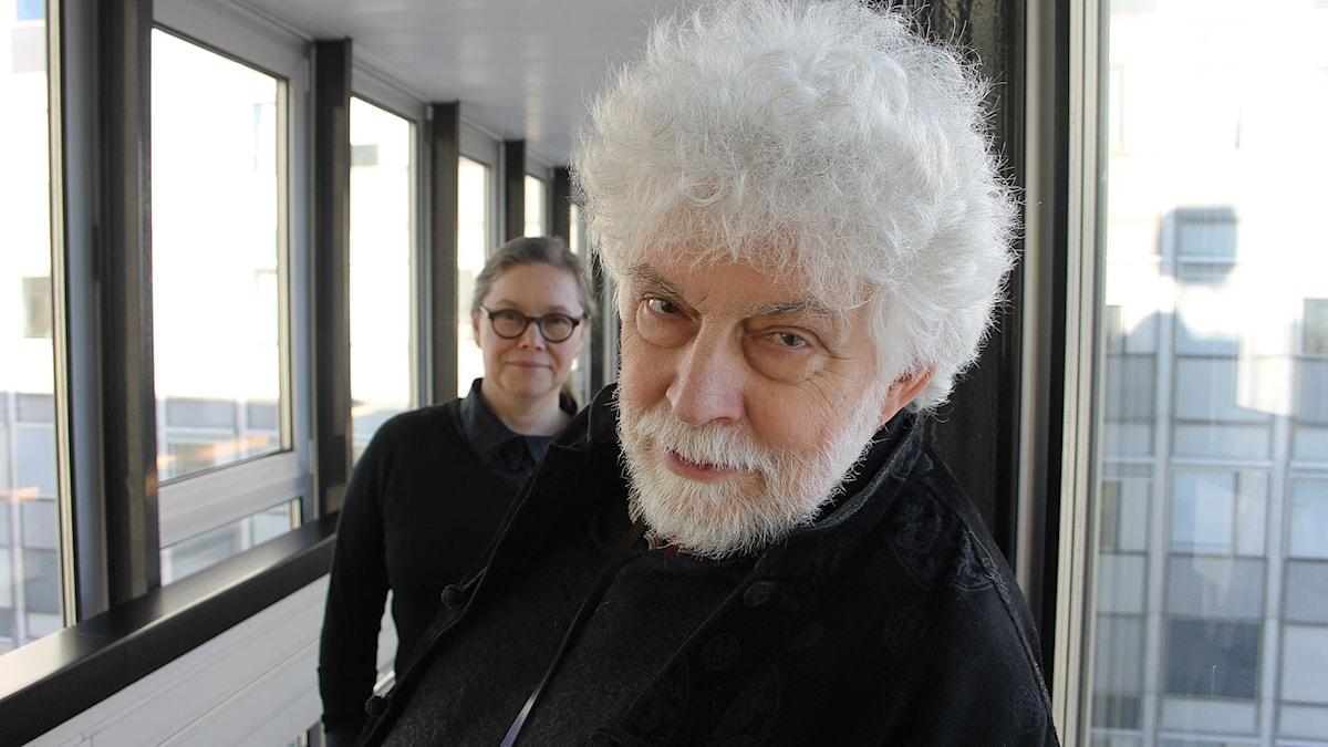 Anneli Dufva och Jan Mark