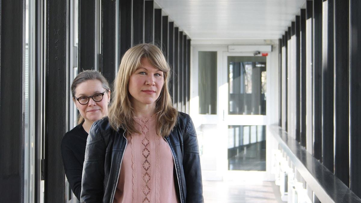 Anneli Dufva och Jenny Andreasson