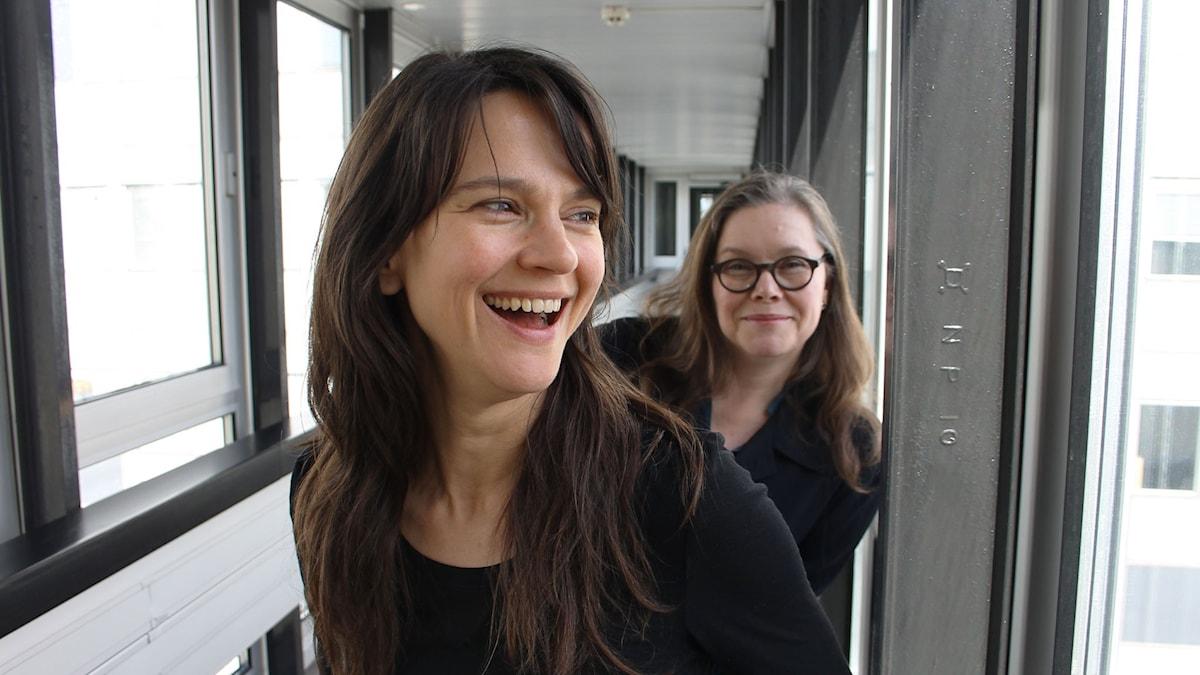 Melinda Kinnaman och Anneli Dufva