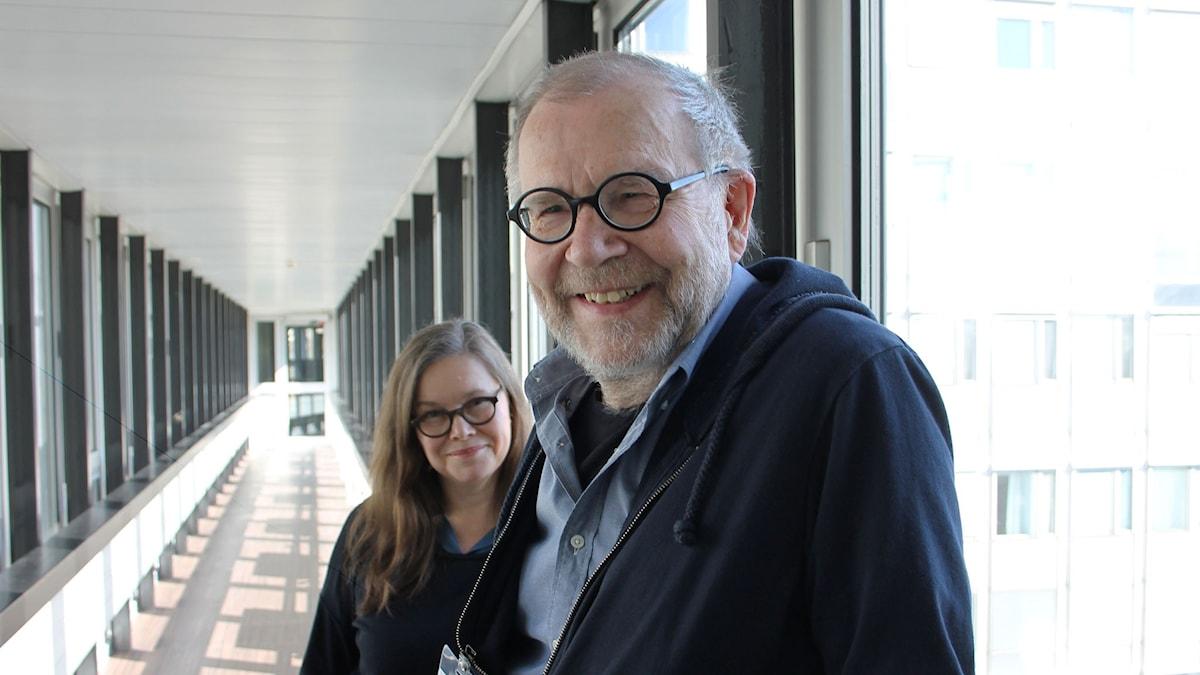 Anneli Dufva och Sören Brunes