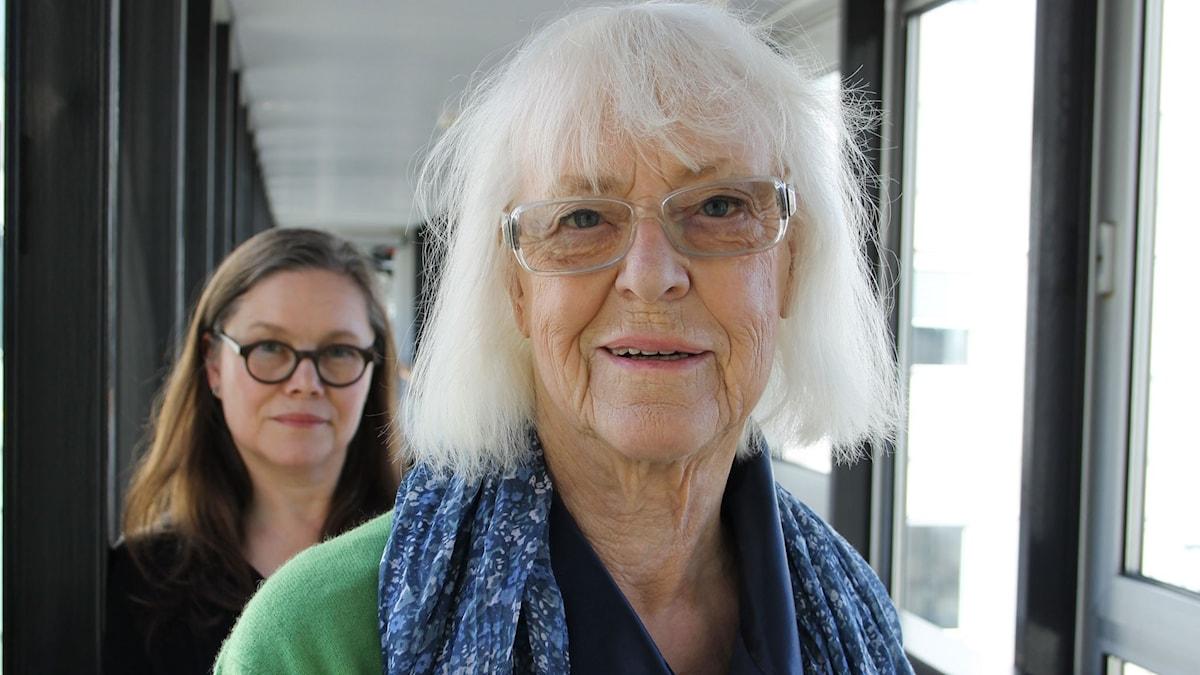 Anneli Dufva och Birgitta Ulfsson