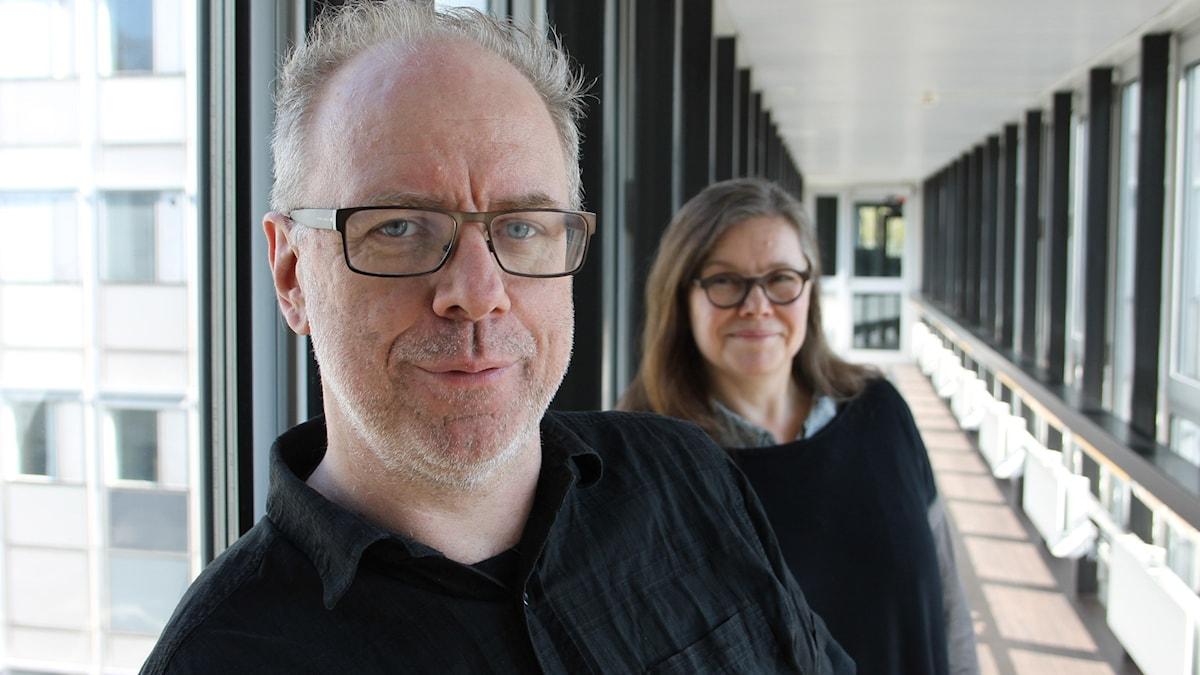 Anneli Dufva och Jörgen Dahlqvist