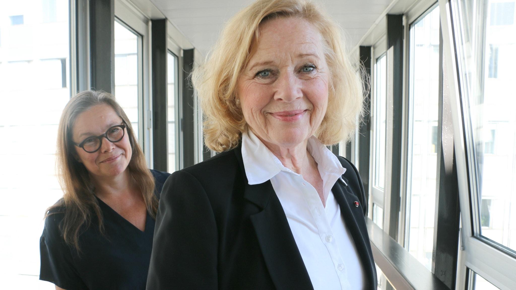 Anneli Dufva och Liv Ullmann