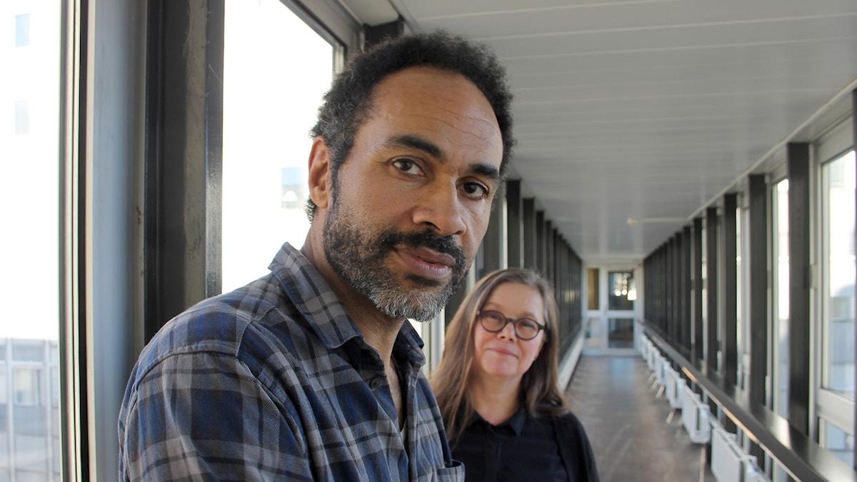 Peter Gardiner och Anneli Dufva.