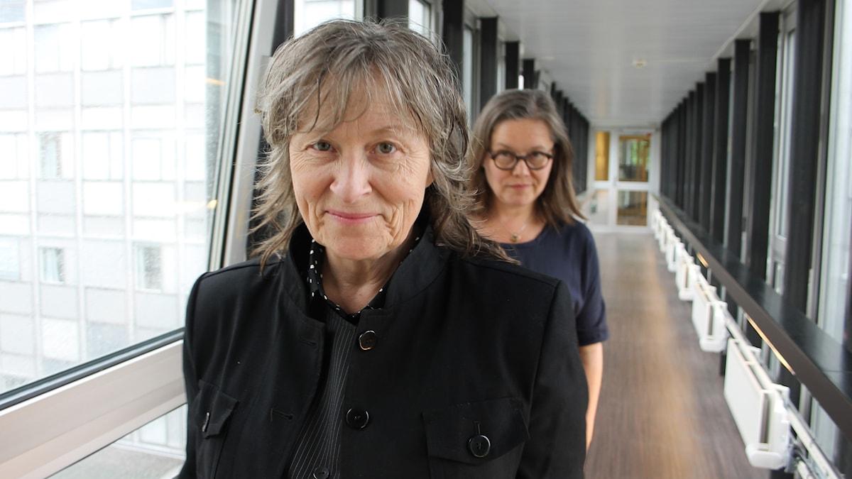 Gunilla Röör och Anneli Dufva.