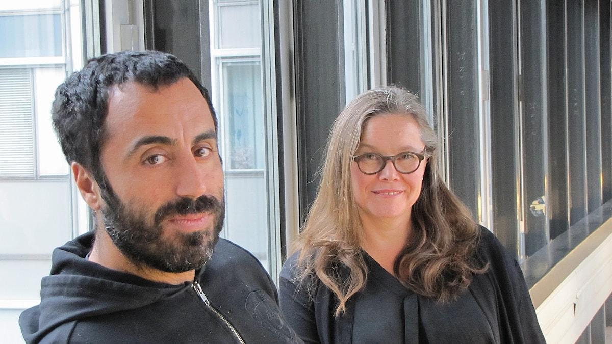 Özz Nujen och Anneli Dufva