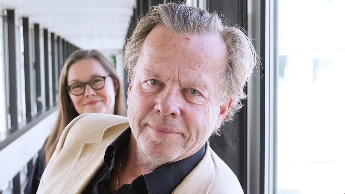 Anneli Dufva och Krister Henriksson