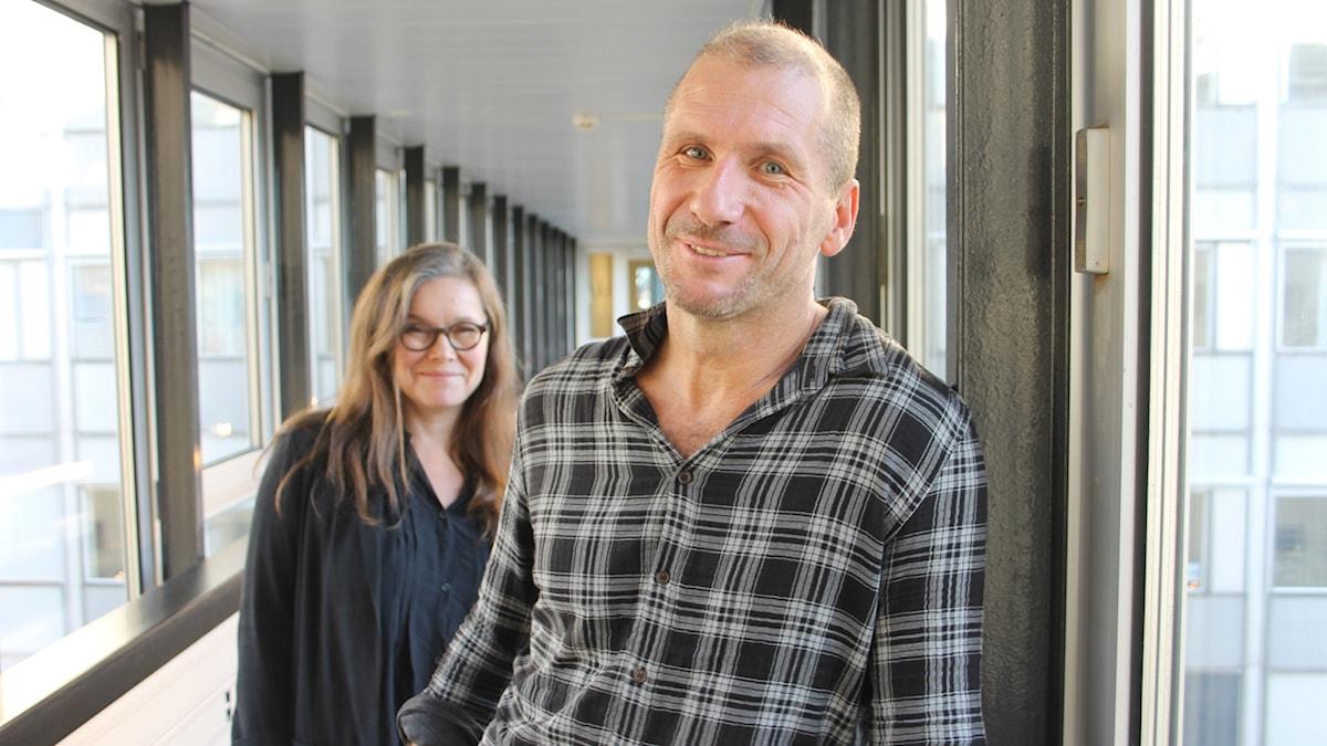 Anneli Dufva och Stefan Larsson.