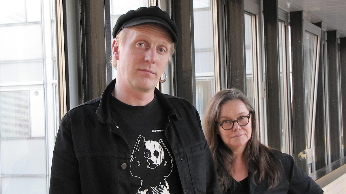 Andreas Boonstra och Anneli Dufva