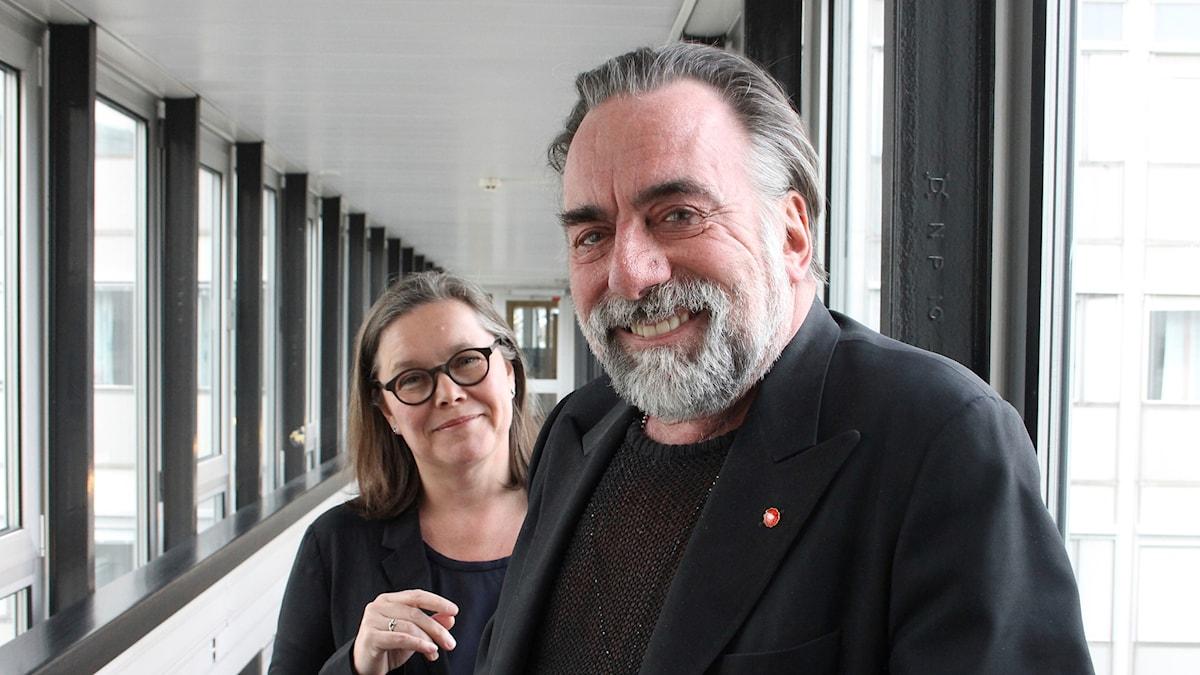 Anneli Dufva och Rikard Wolff.