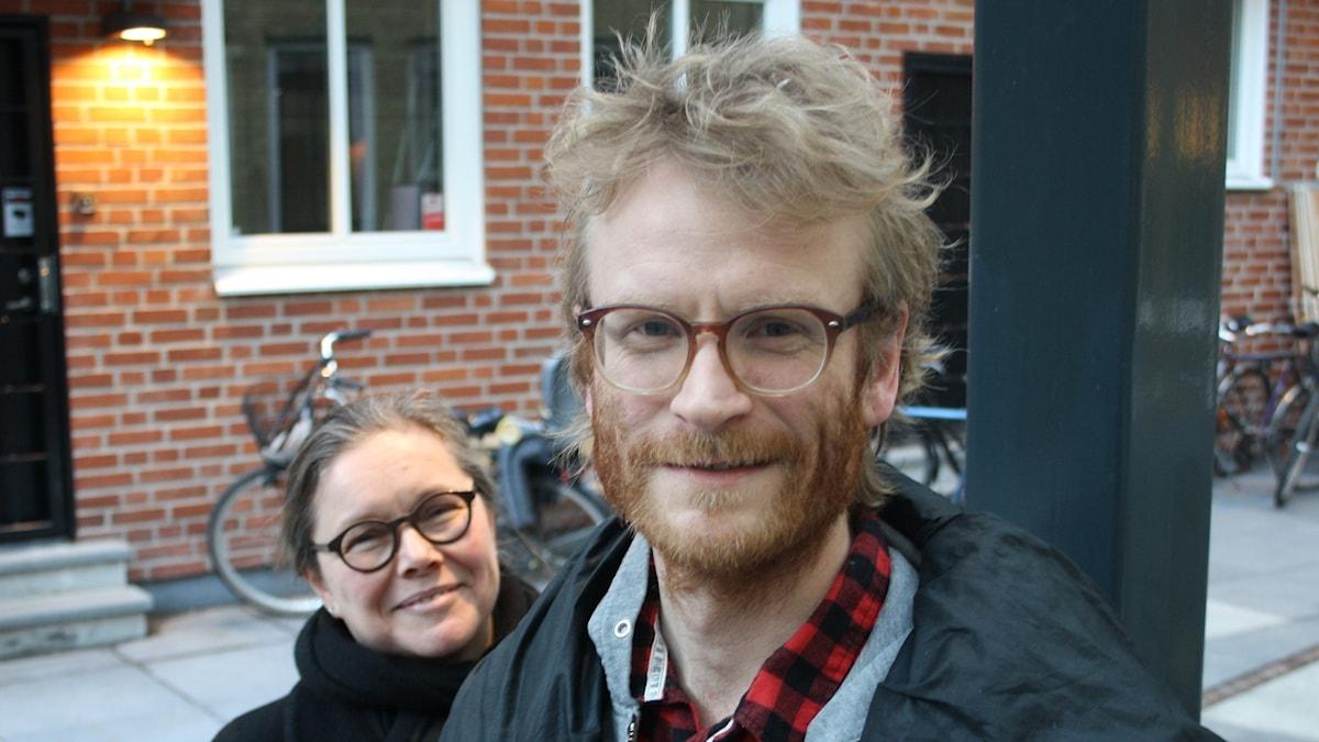 Anneli Dufva och Erik Holmström.