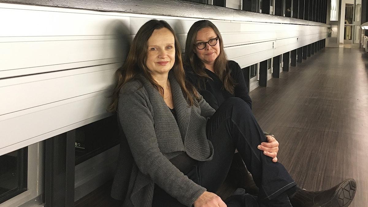 Maria Kulle och Annelie Dufva
