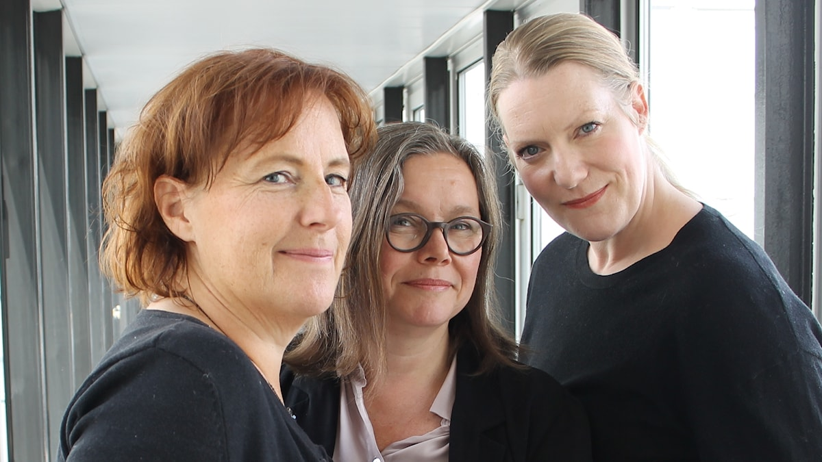 Ulrika Josephsson, Anneli Dufva och Sofia Jupither.