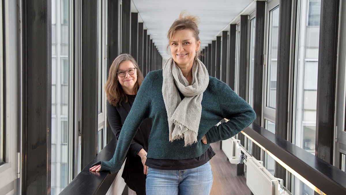 Marie Richardson och Anneli Dufva.