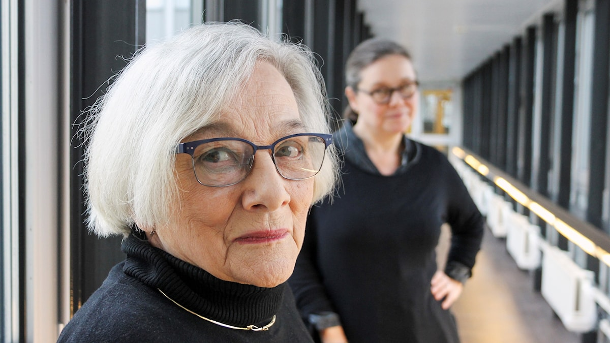 Gunilla Palmstierna-Weiss och Anneli Dufva.