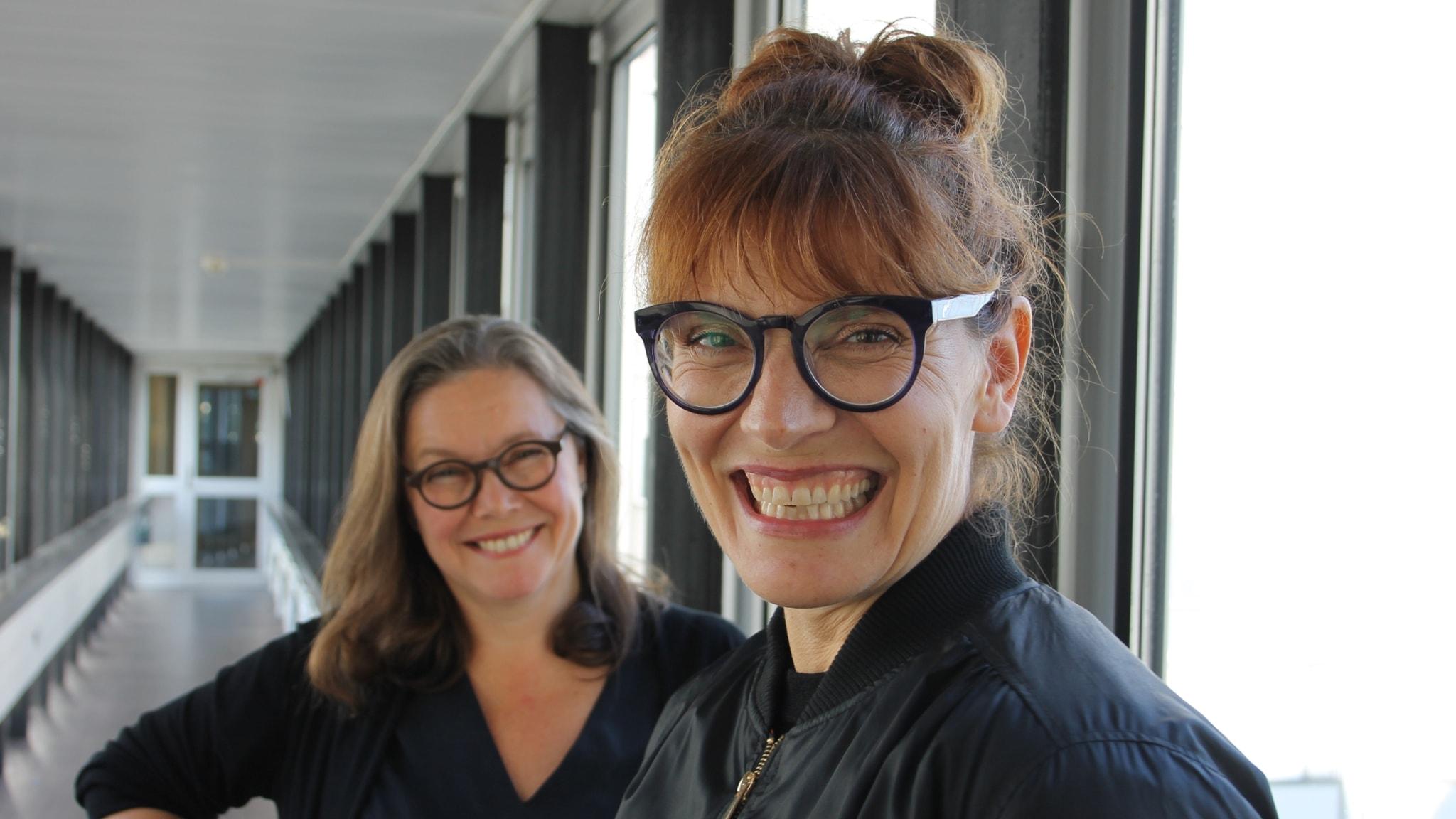 Anneli Dufva och Alexandra Zetterberg-Ehn.