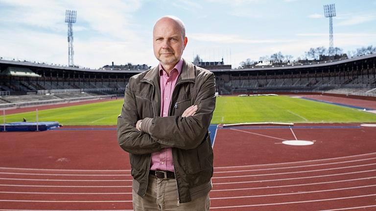 Gunnar Bolin. Foto: Mattias Ahlm/Sveriges Radio