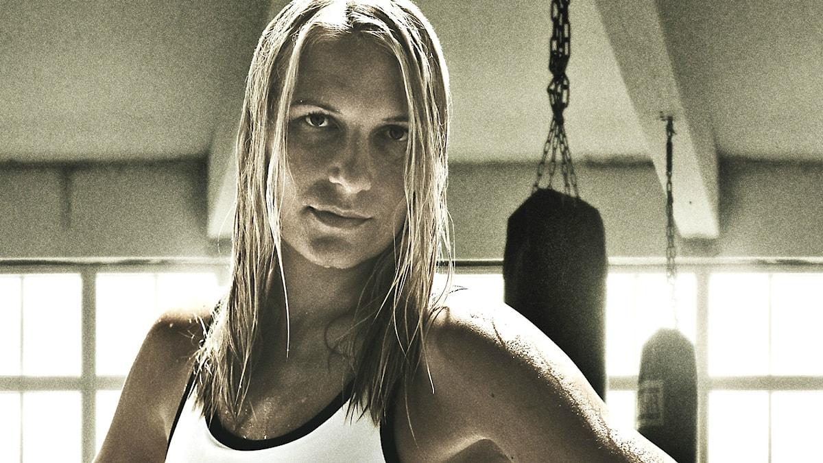 Boxaren Åsa Sandell.
