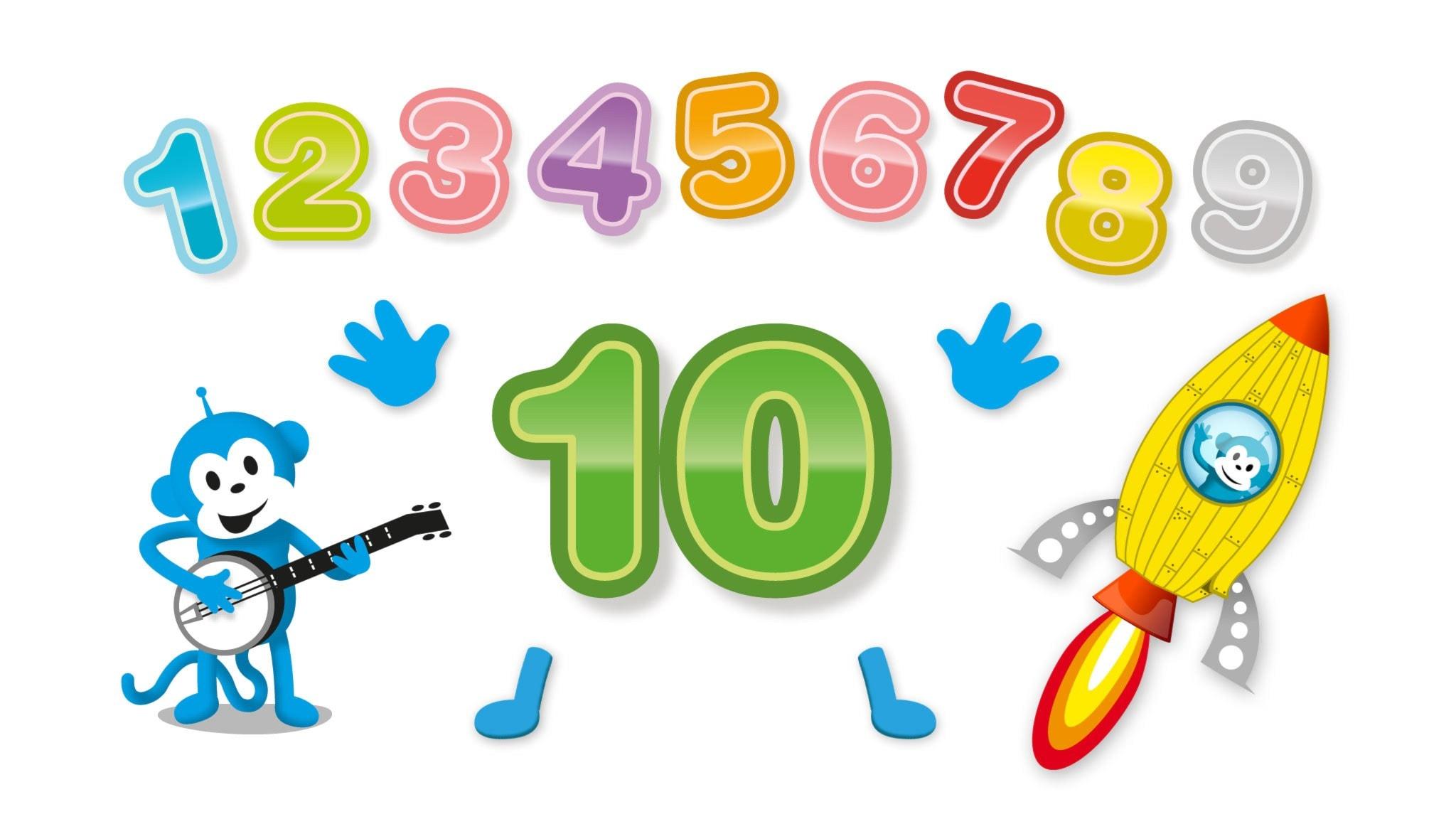 Radioapans sång om siffran 10