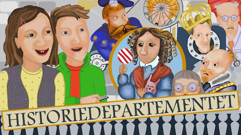 Programbild för UR: Historiedepartementet