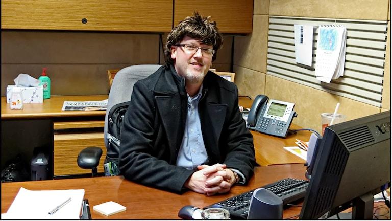 Chef på kontor Foto: Mark Turnauckas https://flic.kr/p/dvbgaT (CC BY 2.0)