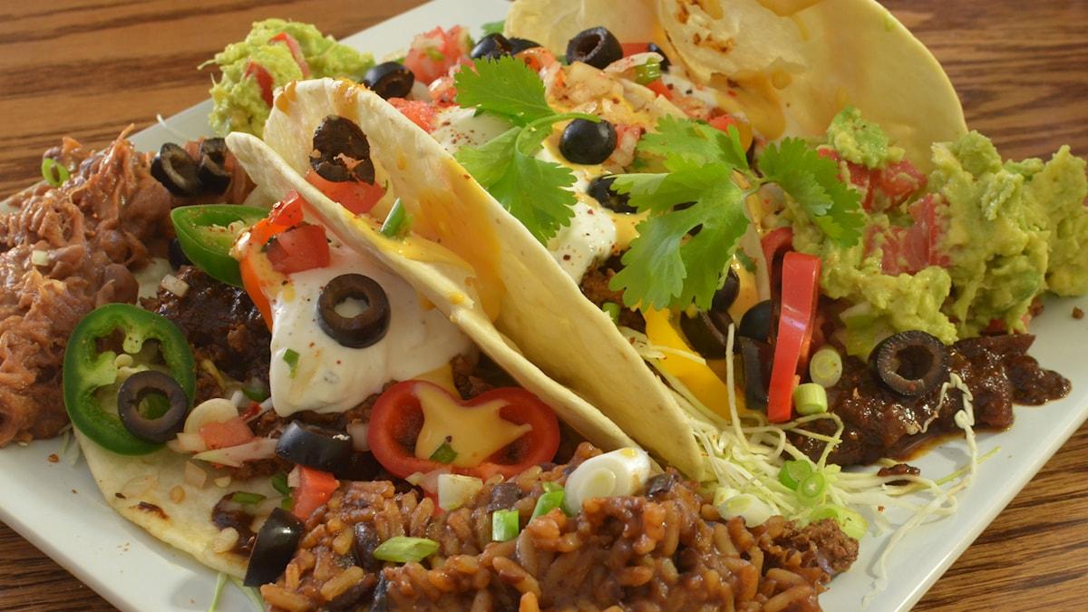 Bild av tacos. Foto: jeffreyw https://flic.kr/p/dw9aMP (CC BY 2.0)
