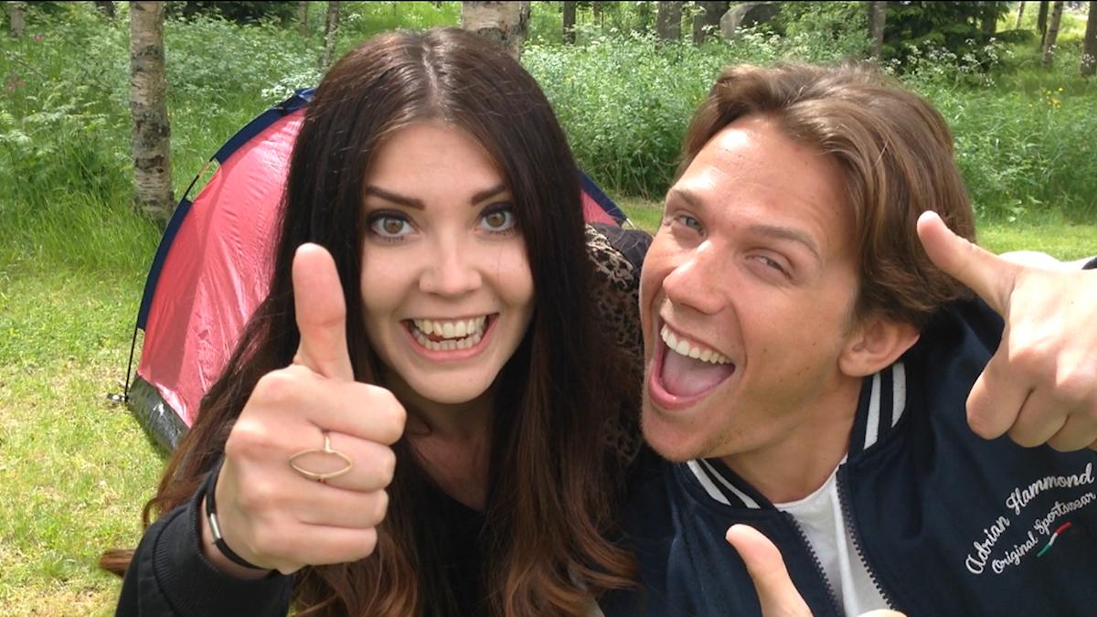 Sofia Johansson och Kristian Täljeblad. Foto: Åsa Björnerbäck/Sveriges Radio