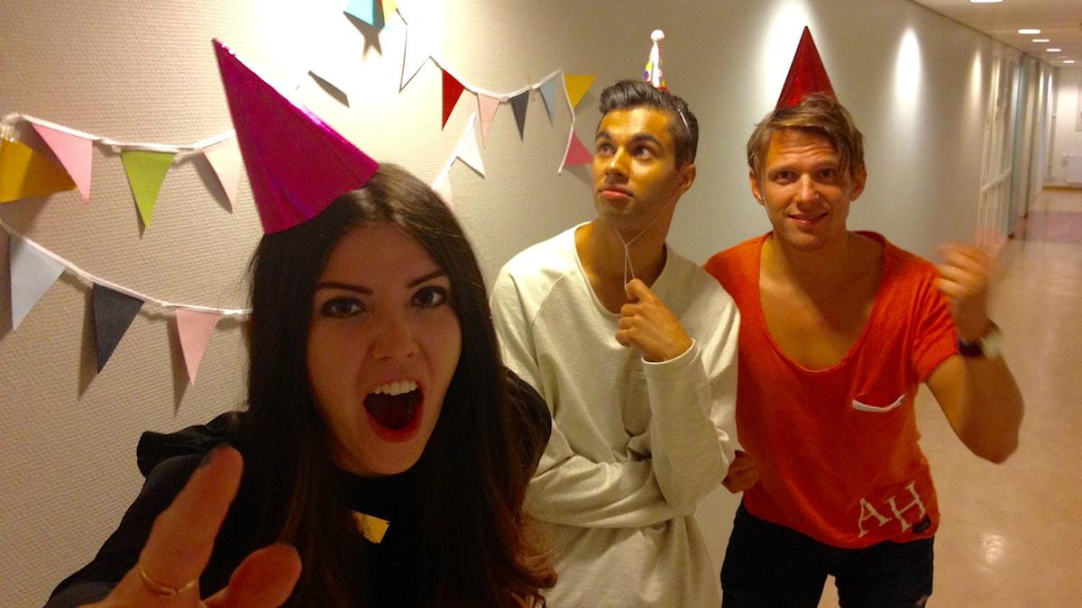 Är det fest eller? Är det fest eller? Foto: Nathaniel Contardo/Sveriges Radio