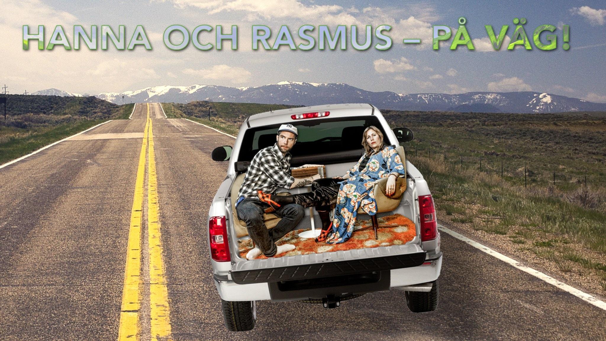 Hanna och Rasmus på väg