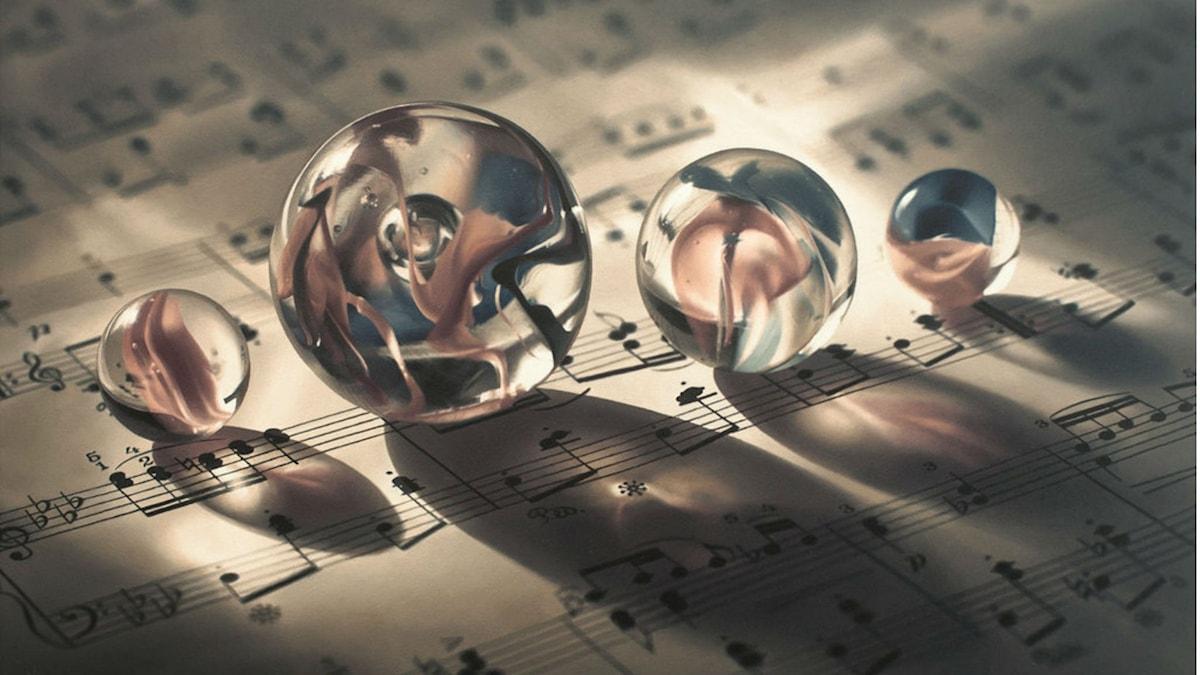 Music of the Spheres Patrick Kramer olja på duk