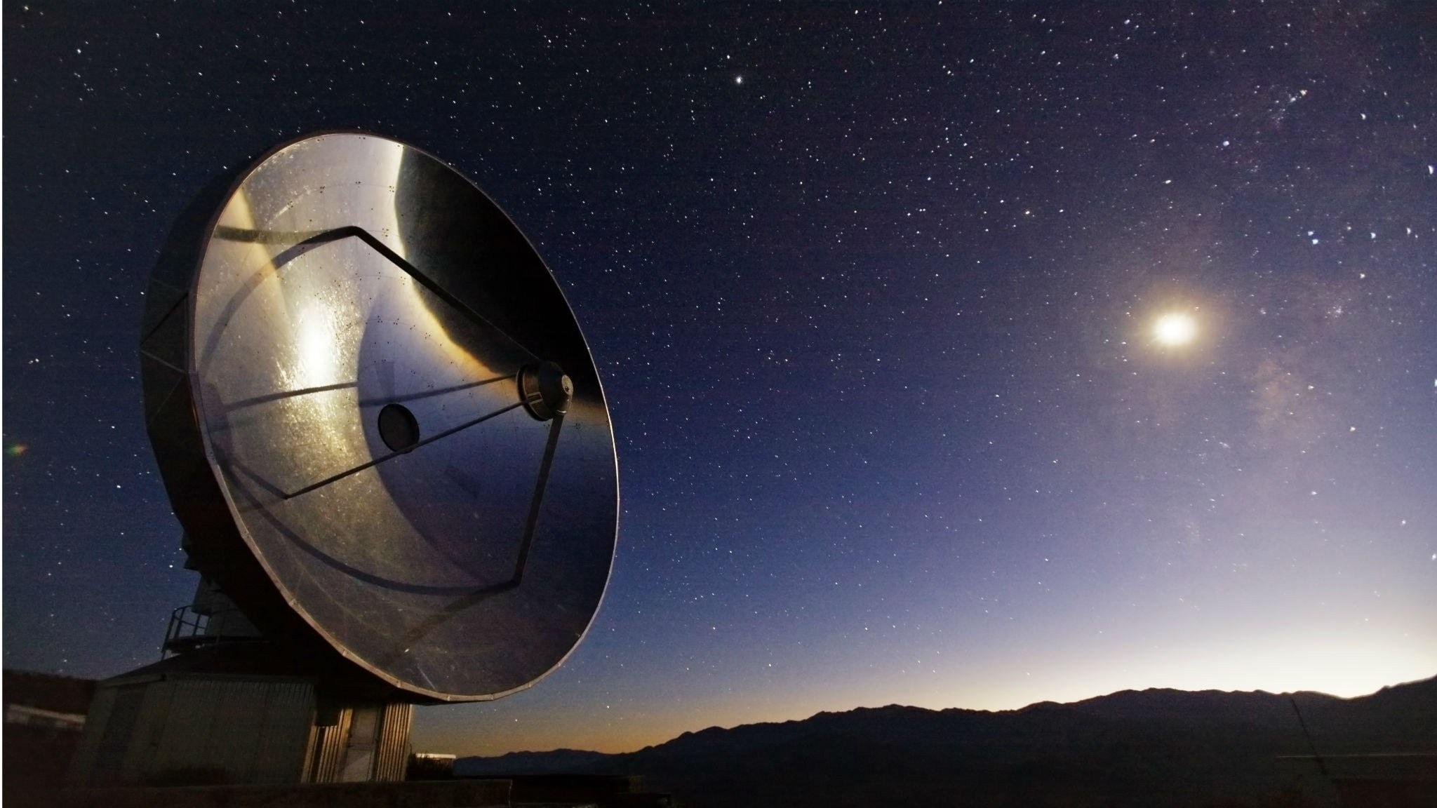 Teleskop på ESOobservatoriet i Chile