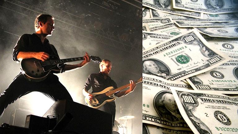 Livemusik och pengar