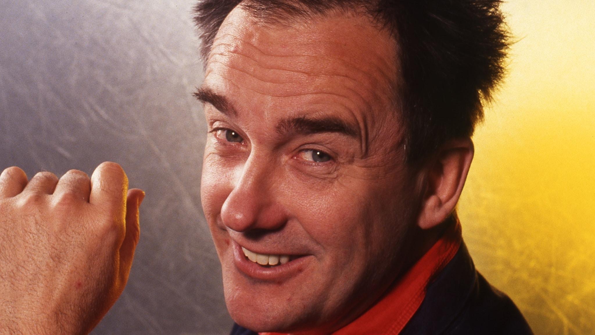 Robert Broberg 1991 då han fyllde Globen.