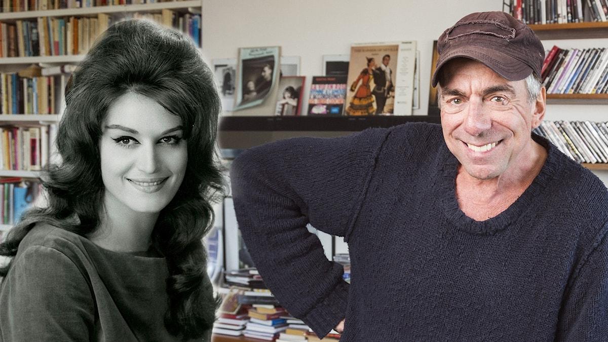 Dalida och Rikard Wolff.