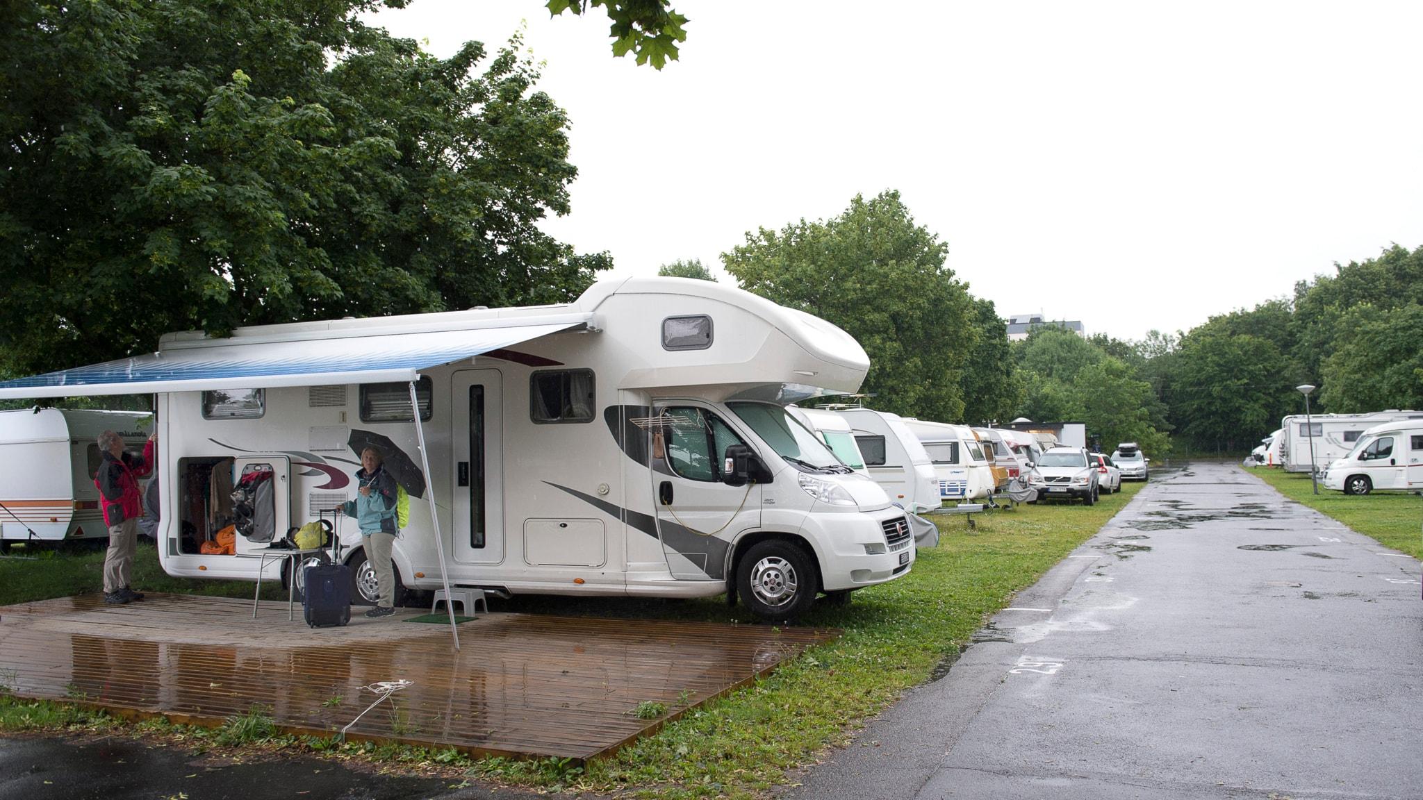 Campingplats. Foto: Maja Suslin/TT