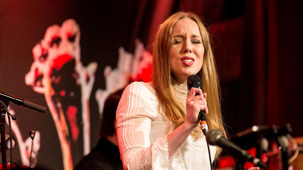 Ellen Andersson Quartet blev årets nykomling, och spelade också på galan.