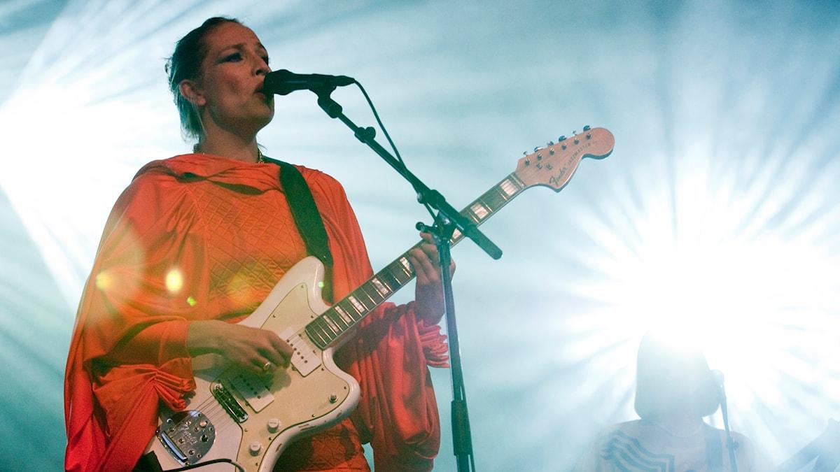 Jenny Wilson på Stockholms jazzfestival 2010