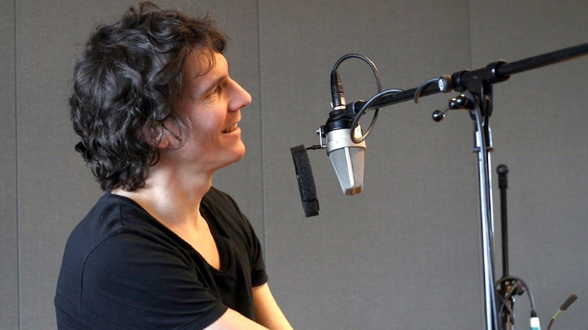 Håkan Hellström i studion