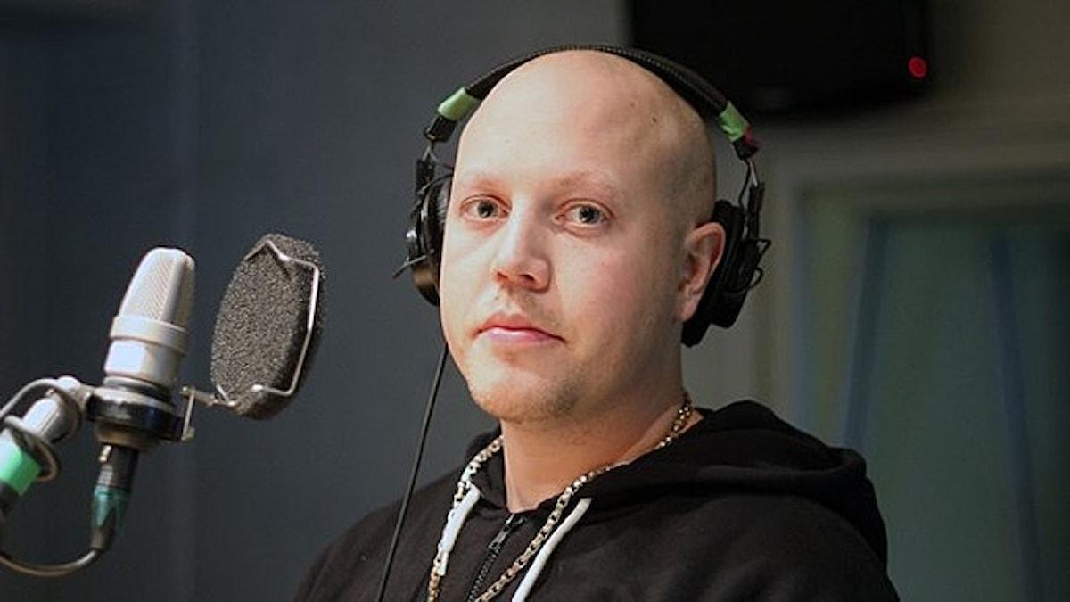 Sebbe Staxx i Musikguidens studio