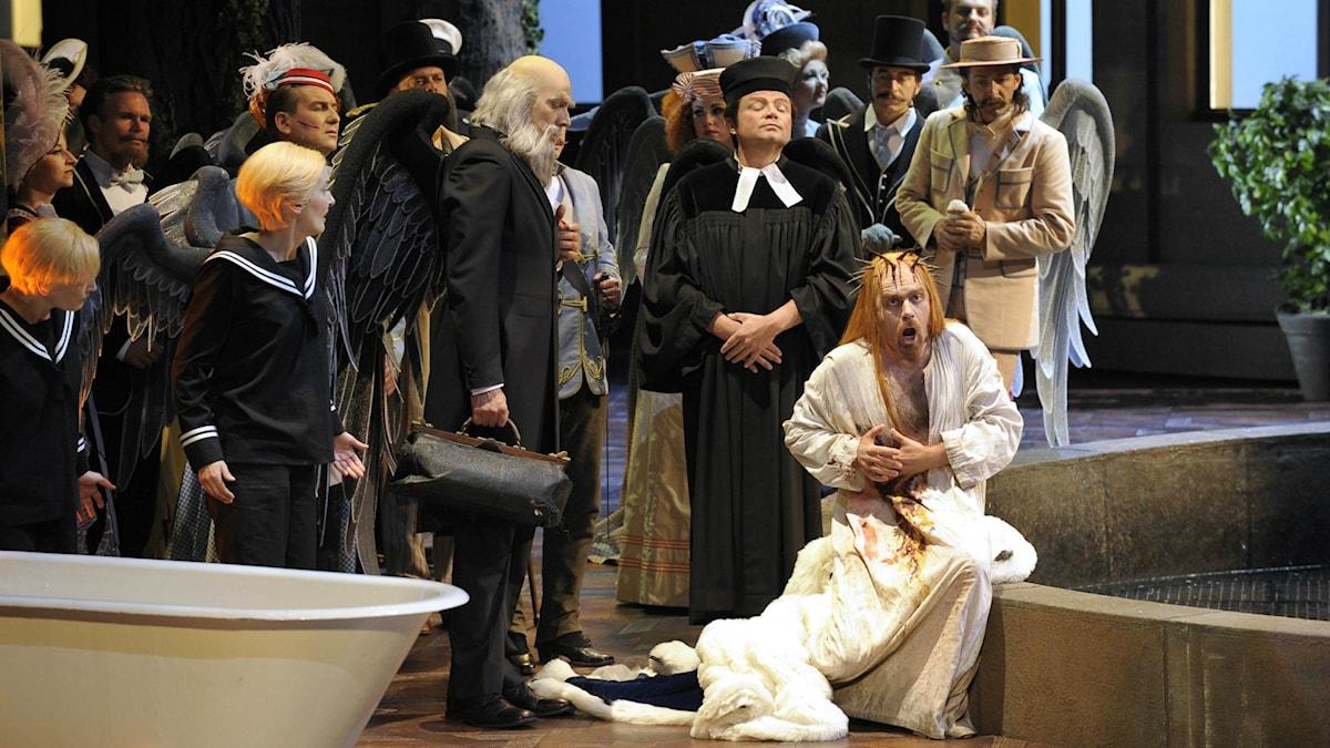 Parsifal från Bayreuths festspel 2008.