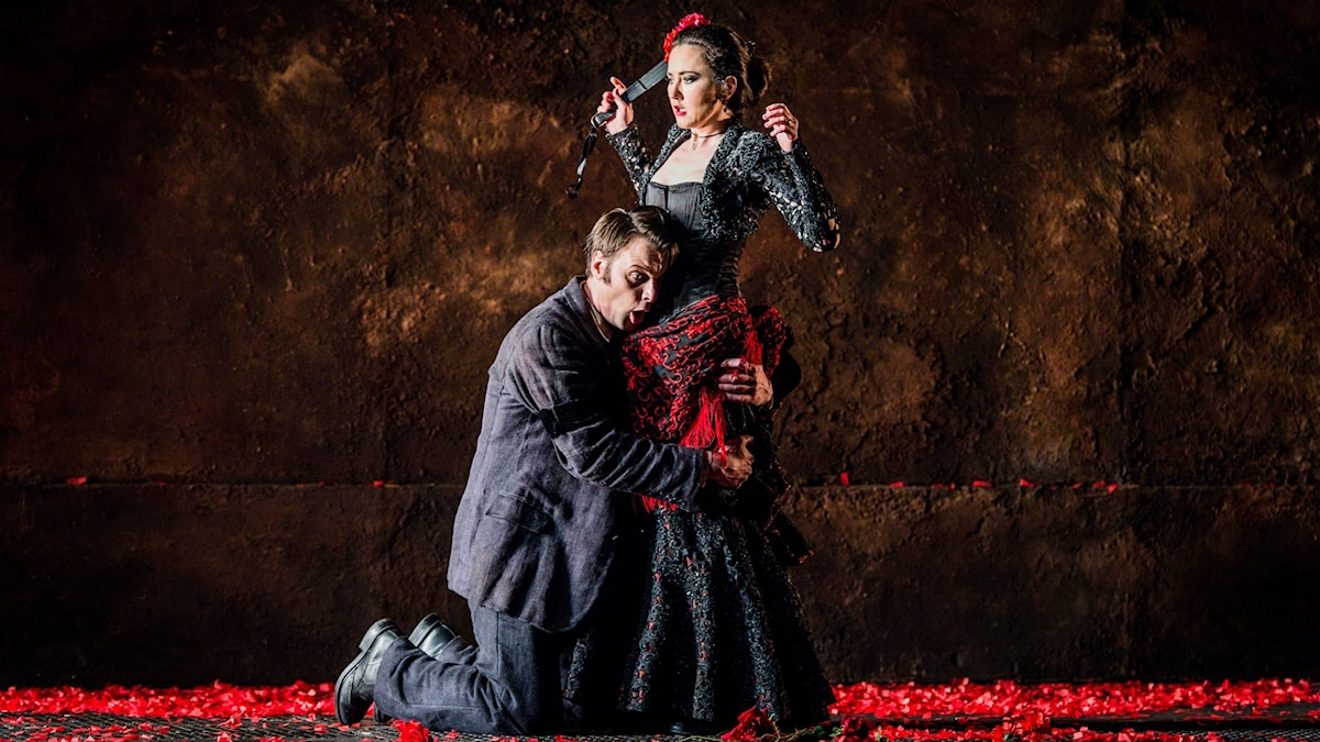 Glyndebourneoperans uppsättning av Carmen från 2015.